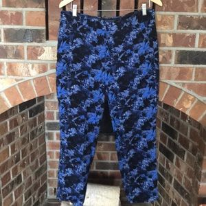 Banana republic Avery fit floral trousers Sz 8